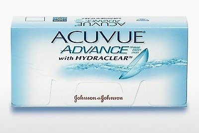 Φακοί επαφής Johnson & Johnson ACUVUE ADVANCE with HYDRACLEAR AVG-6P-REV