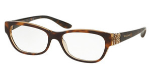 Bvlgari BV4124B 5379 TOP HAVANA/BROWN CRYSTAL