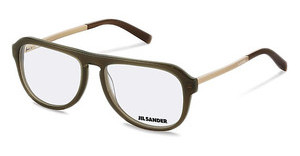 Jil Sander J4014 B brown transparent, gold