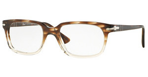 Persol PO3131V 1037 STRIPED BROWN/GR TRASP