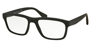 Prada Sport PS 07GV DG01O1 BLACK RUBBER