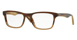 Ray-Ban RX5279 5542 BROWN HORN GRAD TRASP BEIGE