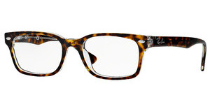Ray-Ban RX5286 5082 TOP HAVANA ON TRANSPARENT