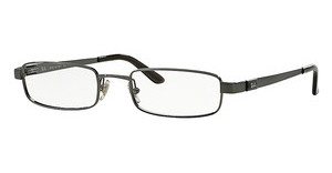 Ray-Ban RX6076 2553 BRUSHED GUNMETAL