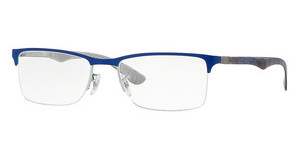 Ray-Ban RX8413 2891 GREY TOP ON BLUE