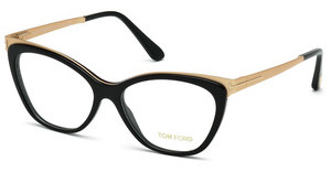 Tom Ford FT5374 001 schwarz glanz