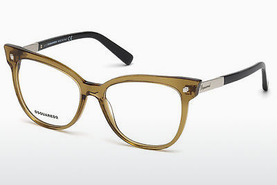 Γυαλιά Dsquared DQ5214 045 - καφέ, Bright, Shiny