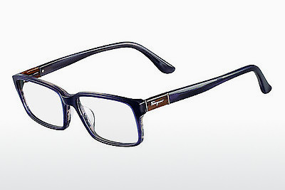 Γυαλιά Salvatore Ferragamo SF2636 423 - μπλε, Horn