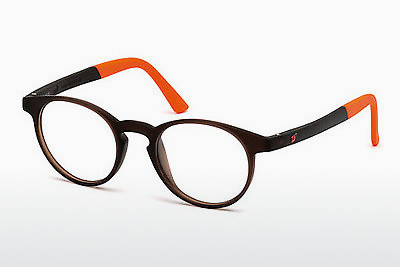 Γυαλιά Web Eyewear WE5186 049 - καφέ, Dark, Matt