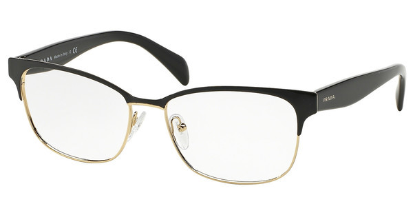 Prada   PR 65RV QE31O1 BLACK ON PALE GOLD