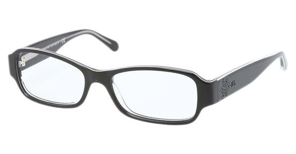 Ralph Lauren RL6110 5448 BLACK/WHITE/TRASPARENT