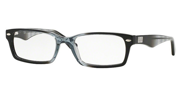 Ray-Ban RX5206 5515 GRADIENT GREY ON BLACK