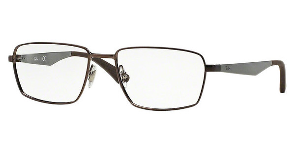 Ray-Ban RX6334 2511 SHINY DARK BROWN