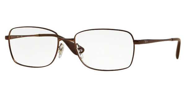 Ray-Ban RX6336M 2758 MATTE BROWN