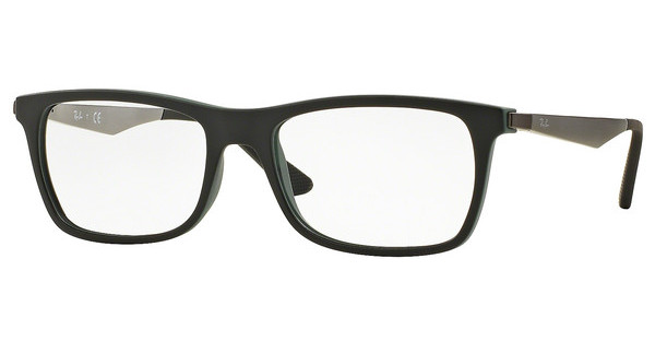 Ray-Ban RX7062 5197 BLACK TOP ON GREEN