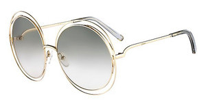 Chloé CE114S 734 GOLD/TRANSPARENT LIGHT GREY
