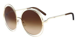 Chloé CE114S 784 ROSE GOLD/TRANSPARENT BROWN