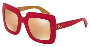 Dolce & Gabbana DG4263 29575R DARK GREY MIRROR PINKTOP FUXIA ON GOLD