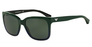 Emporio Armani EA4042 534971 GREY GREENGREEN GRADIENT BLUE ON BLACK