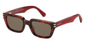 Marc Jacobs MJ 591/S 69H/8E BROWNHVNA RED (BROWN)