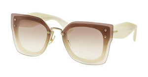 Miu Miu MU 04RS 7S31L0 CLEAR GRADIENT BROWNIVORY
