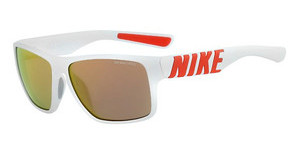 Nike NIKE MOJO SE EV0978 160 WHITE/BRIGHT CRIMSON WITH GREY W/ML ORANGE FLASH LENS