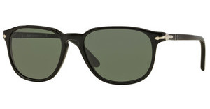 Persol PO3019S 95/31 CRYSTAL GREENBLACK