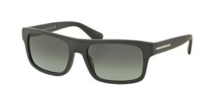 Prada PR 18PS TFZ2D0 LIGHT GREY GRADIENT DARK GREYMATTE GREY