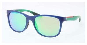Prada Sport PS 03OS OAI1M2 MIRROR GREENBLUE