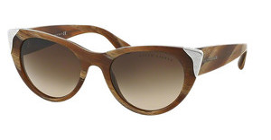 Ralph Lauren RL8112 544413 GRADIENT BROWNBROWN HORN VINTAGE EFFECT