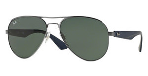 Ray-Ban RB3523 029/71 GRAY GREENMATTE GUNMETAL