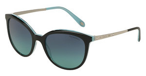 Tiffany TF4117B 81939S AZURE GRADIENT BLUEBLACK/STRIPED BLUE