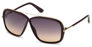 Tom Ford FT0455 81Z violett ver.violett glanz