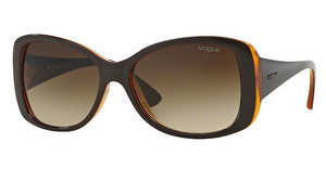 Vogue VO2843S 227913 BROWN GRADIENTTOP BROWN/ORANGE TRANSP