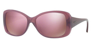 Vogue VO2843S 25355R DARK BROWN MIRROR PINKOPAL PINK