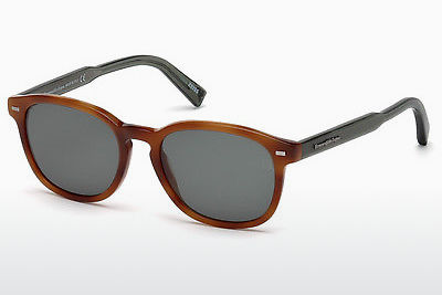 Γυαλιά ηλίου Ermenegildo Zegna EZ0005 53N - Havanna, Yellow, Blond, Brown