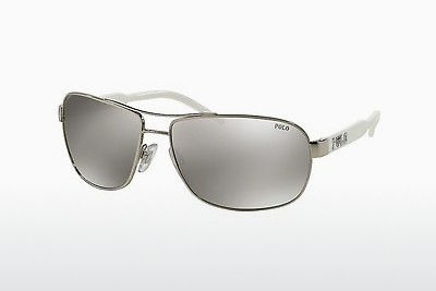 Γυαλιά ηλίου Polo PH3053 90018V - Silver-mirror-silver