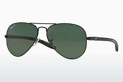 Γυαλιά ηλίου Ray-Ban AVIATOR TM CARBON FIBRE (RB8307 002/N5) - μαύρο