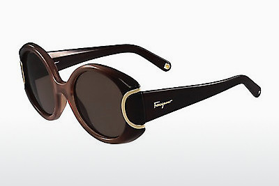Γυαλιά ηλίου Salvatore Ferragamo SF811S SIGNATURE 212 - καφέ