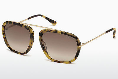 Γυαλιά ηλίου Tom Ford Johnson (FT0453 53F) - Havanna, Yellow, Blond, Brown