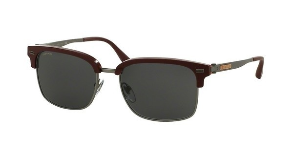 Bvlgari BV7026 535987 GREYSAND RED ON HORN/MT GUNMETAL