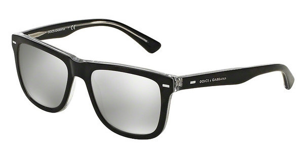 Dolce & Gabbana DG4238 29906G LIGHT GREY MIRROR SILVERCHECK GREY/SILVER