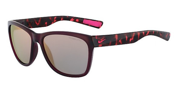 Nike NIKE VITAL R EV0882 626 CRYSTAL DEEP BURGUNDY/HYPER PINK TORT WITH GREY W/ML ROSE GOLD LENS LENS