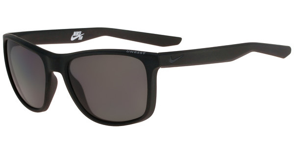 Nike UNREST P EV0954 002 MATTE BLACK/DEEP PEWTER WITH POLARIZED GREY LENS Polarized LENS