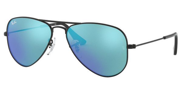 Ray-Ban Junior RJ9506S 201/55 BLUE MIRRORMATTE BLACK
