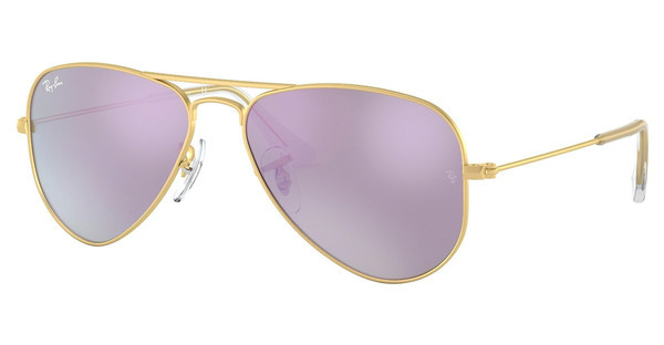 Ray-Ban Junior RJ9506S 249/4V LILLAC FLASHMATTE GOLD