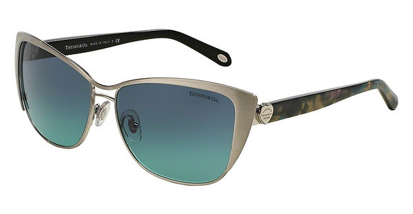 Tiffany TF3050 60769S AZURE GRADIENT BLUEBRUSHED SILVER