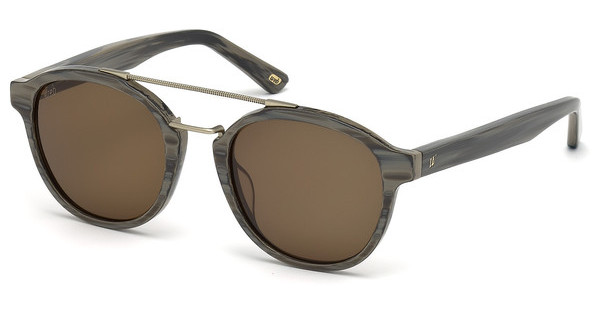 Web Eyewear   WE0169 60J roviexhorn beige