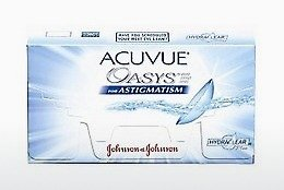 Φακοί επαφής Johnson & Johnson ACUVUE ADVANCE for ASTIGMATISM AGT-6P-REV