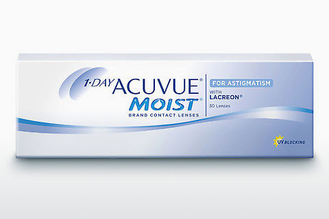 Φακοί επαφής Johnson & Johnson 1 DAY ACUVUE MOIST for ASTIGMATISM 1MA-30P-REV